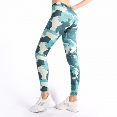Leggings camo green